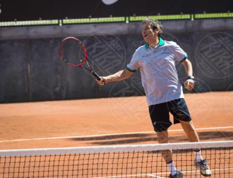 Luca Barbarossa - Roma - 20-05-2017 - Paolo Bonolis e Clarence Seedorf tennisti per una buona causa