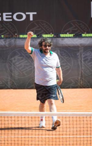 Lillo - Roma - 20-05-2017 - Paolo Bonolis e Clarence Seedorf tennisti per una buona causa