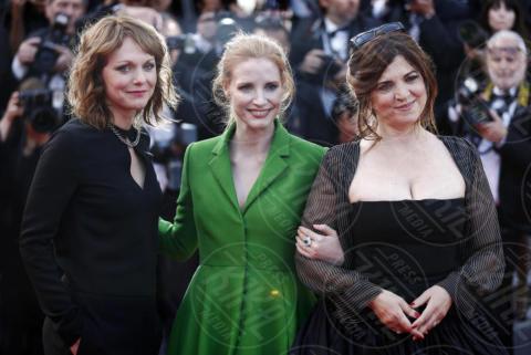 Jessica Chastain - Cannes - 21-05-2017 - Cannes: l'eleganza di Nicole Kidman, il sideboob di Elle Fanning