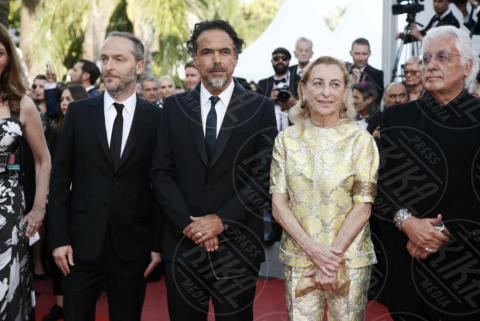 Alejandro Inarritu, Miuccia Prada - Cannes - 22-05-2017 - Cannes 2017: Nicole Kidman, una damigella con tutù