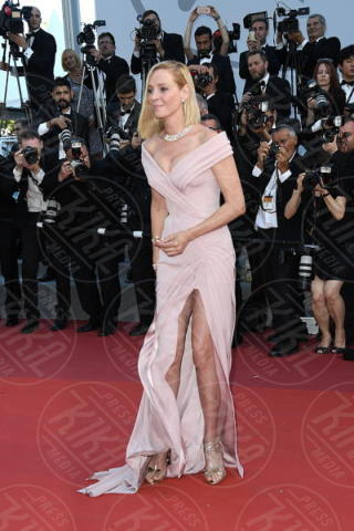 Uma Thurman - Cannes - 18-05-2017 - Cannes 2017: sul red carpet lo spacco spacca!