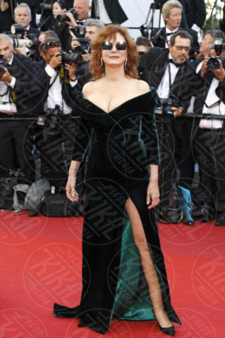 Susan Sarandon - Cannes - 17-05-2017 - Cannes 2017: sul red carpet lo spacco spacca!