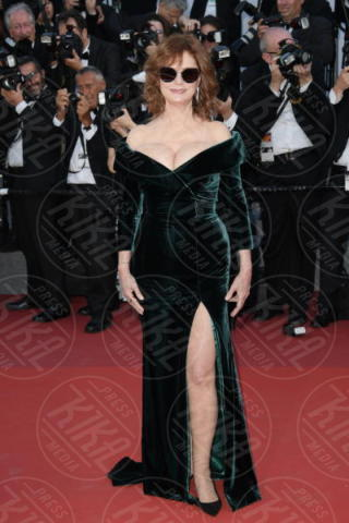 Susan Sarandon - Cannes - 18-05-2017 - Cannes 2017: sul red carpet lo spacco spacca!