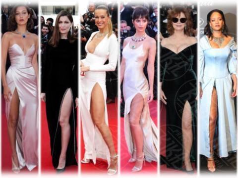 Bella Hadid, Emily Ratajkowski, Rihanna, Laetitia Casta, Petra Nemcova, Susan Sarandon - 23-05-2017 - Cannes 2017: sul red carpet lo spacco spacca!