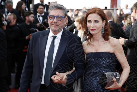 Sergio Catellitto, Margaret Mazzantini - Cannes - 23-05-2017 - Cannes festeggia 70 anni: sul red carpet la crème de la crème