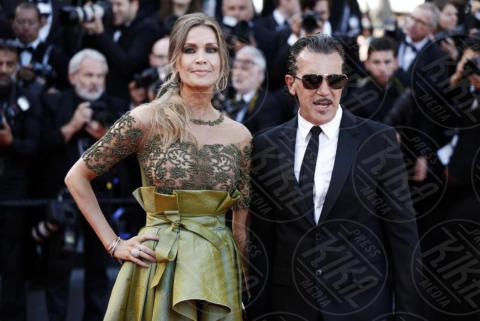 Nicole Kimpel, Antonio Banderas - Cannes - 23-05-2017 - Cannes festeggia 70 anni: sul red carpet la crème de la crème