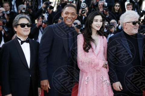 Fan Bingbing, Pedro Almodovar, Will Smith - Cannes - 23-05-2017 - Cannes festeggia 70 anni: sul red carpet la crème de la crème