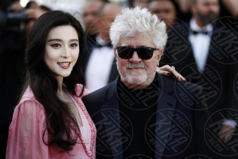 Fan Bingbing, Pedro Almodovar - Cannes - 23-05-2017 - Cannes festeggia 70 anni: sul red carpet la crème de la crème