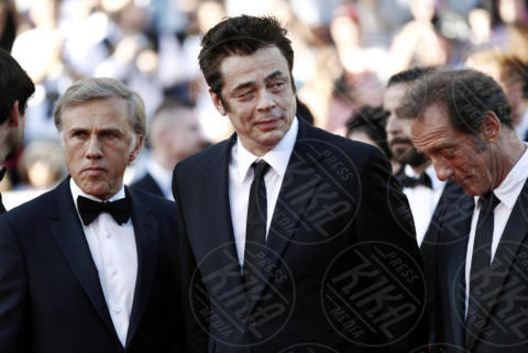 Christoph Waltz, Benicio Del Toro - Cannes - 23-05-2017 - Cannes festeggia 70 anni: sul red carpet la crème de la crème