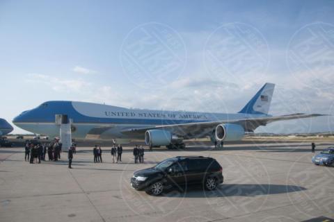 Air Force One - Roma - 23-05-2017 - Donald Trump a Roma, Melania rifiuta ancora di dargli la mano