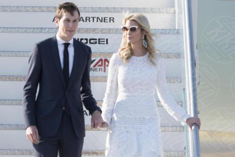 Jared Kushner, Ivanka Trump - Roma - 23-05-2017 - Donald Trump a Roma, Melania rifiuta ancora di dargli la mano