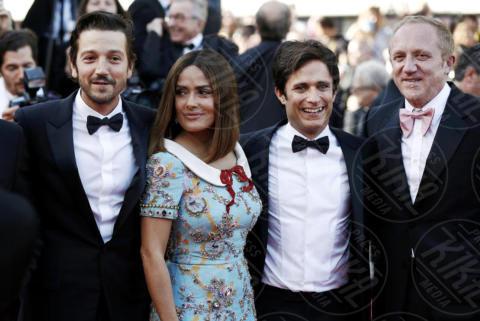 Gael Garcia Bernard, François-Henri Pinault, Salma Hayek, Diego Luna - Cannes - 23-05-2017 - Cannes festeggia 70 anni: sul red carpet la crème de la crème