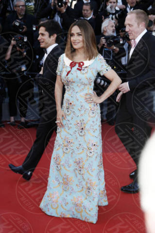Salma Hayek - Cannes - 23-05-2017 - Cannes festeggia 70 anni: sul red carpet la crème de la crème