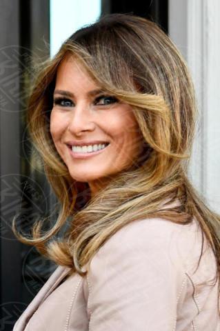 Melania Trump - Bruxelles - 25-05-2017 - Melania Trump è rimasta di cera... e l'abito non è casuale!