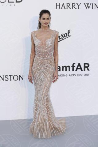 Izabel Goulart - Cannes - 25-05-2017 - Cannes 2017: l'amfAR 2017 è... argento vivo!