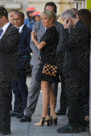 Brigitte Macron - Bruxelles - 25-05-2017 - Melania Trump-Brigitte Macron: sfida a colpi di eleganza