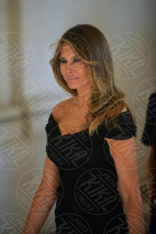 Melania Trump - Bruxelles - 25-05-2017 - Melania Trump-Brigitte Macron: sfida a colpi di eleganza