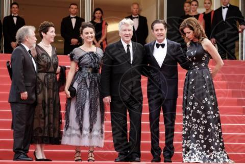 Sabrina Sutherland, Emily Stofle, Desiree Gruber, David Lynch, Kyle MacLachlan - Cannes - 25-05-2017 - Cannes 2017: sul red carpet rivive Twin Peaks