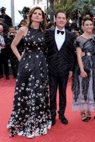 Desiree Gruber, Kyle MacLachlan - Cannes - 25-05-2017 - Cannes 2017: sul red carpet rivive Twin Peaks