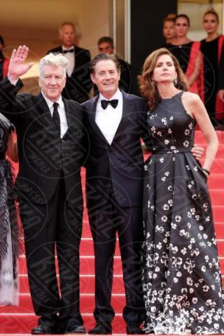 Desiree Gruber, David Lynch, Kyle MacLachlan - Cannes - 25-05-2017 - Cannes 2017: sul red carpet rivive Twin Peaks