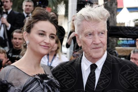 Emily Stofle, David Lynch - Cannes - 25-05-2017 - Cannes 2017: sul red carpet rivive Twin Peaks