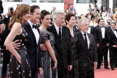 Emily Stofler, Desiree Gruber, David Lynch, Kyle MacLachlan - Cannes - 25-05-2017 - Cannes 2017: sul red carpet rivive Twin Peaks