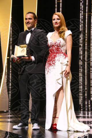 Jessica Chastain, Joaquin Phoenix - Cannes - 28-05-2017 - Monica Bellucci e il toccante discorso sulle donne