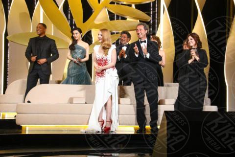 Jessica Chastain, Paolo Sorrentino - Cannes - 28-05-2017 - Monica Bellucci e il toccante discorso sulle donne