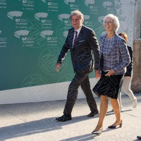G7 Taormina, Theresa May - Taormina - 26-05-2017 - Il G7 di Taormina porta alla frattura Europa-Trump
