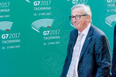 G7 Taormina, Jean-Claude Juncker - Taormina - 26-05-2017 - Il G7 di Taormina porta alla frattura Europa-Trump