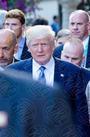 G7 Taormina, Donald Trump - Taormina - 26-05-2017 - Il G7 di Taormina porta alla frattura Europa-Trump