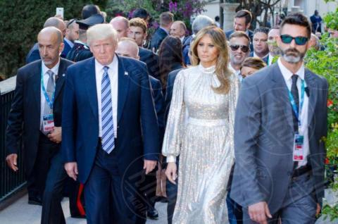 G7 Taormina, Melania Trump, Donald Trump - Taormina - 26-05-2017 - Il G7 di Taormina porta alla frattura Europa-Trump