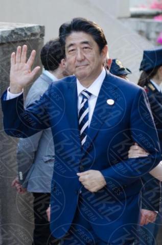 G7 Taormina, Shinzo Abe - Taormina - 26-05-2017 - Il G7 di Taormina porta alla frattura Europa-Trump