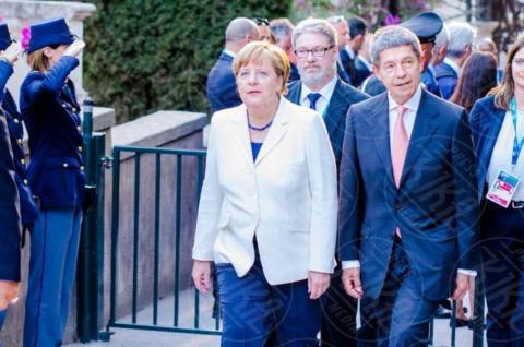G7 Taormina, Angela Merkel - Taormina - 26-05-2017 - Il G7 di Taormina porta alla frattura Europa-Trump