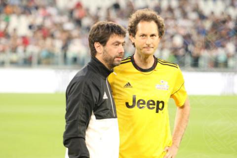 Andrea Agnelli, John Elkann - Torino - 30-05-2017 - Sebastian Vettel, Ramazzotti & Co.: vince la Partita del Cuore
