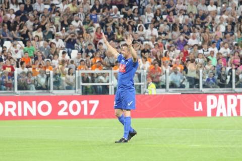 Alessandro Del Piero - Torino - 30-05-2017 - Sebastian Vettel, Ramazzotti & Co.: vince la Partita del Cuore