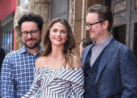 Matt Reeves, J.J. Abrams, Keri Russell - Hollywood - 30-05-2017 - Robert Pattinson, da vampiro a uomo pipistrello in Batman