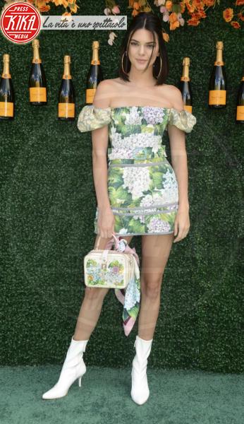 Kendall Jenner - JERSEY CITY - 03-06-2017 - Il fiore dell'estate? L'ortensia, quella di Dolce & Gabbana