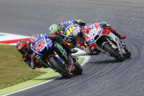 Maverik Vinales, Mugello, Andrea Dovizioso, Valentino Rossi - Mugello - 04-06-2017 - Moto GP: le immagini del Mugello. Vince Dovizioso