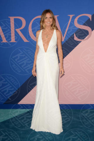 Heidi Klum - New York - 06-06-2017 - CFDA Awards 2017: ecco chi è la Bella in rosa sul blue carpet...