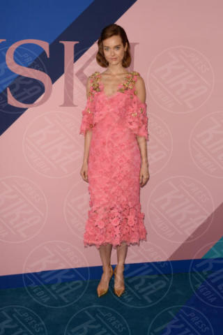 Jac Jagaciak - New York - 06-06-2017 - CFDA Awards 2017: ecco chi è la Bella in rosa sul blue carpet...