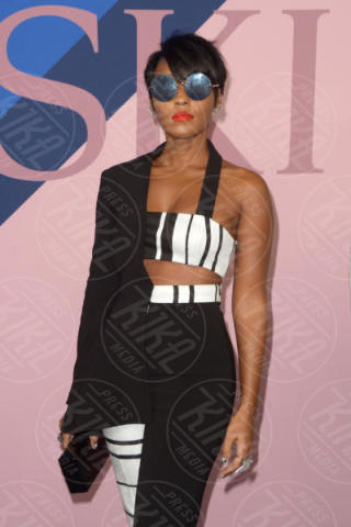 Janelle Monae - New York - 06-06-2017 - CFDA Awards 2017: ecco chi è la Bella in rosa sul blue carpet...