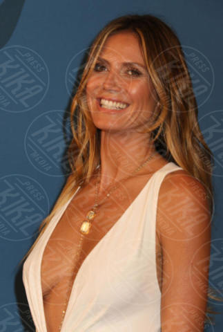 Heidi Klum - New York - 05-06-2017 - CFDA Awards 2017: ecco chi è la Bella in rosa sul blue carpet...