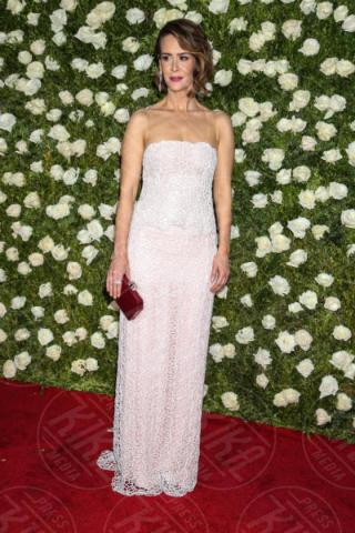 Sarah Paulson - New York - 11-06-2017 - Scarlett Johansson & Co.: i Tony Awards sembrano gli Oscar