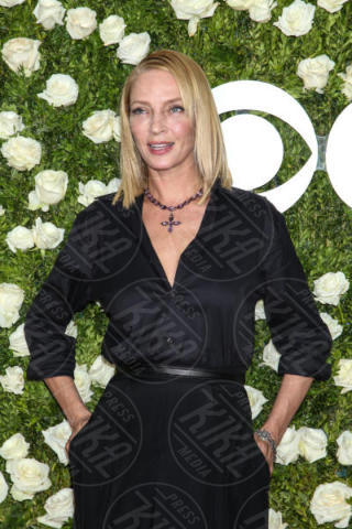 Uma Thurman - New York - 11-06-2017 - Scarlett Johansson & Co.: i Tony Awards sembrano gli Oscar