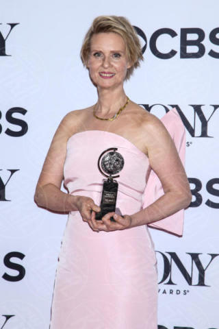 Cynthia Nixon - New York - 11-06-2017 - Scarlett Johansson & Co.: i Tony Awards sembrano gli Oscar