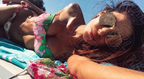 Anna Tatangelo - Los Angeles - 12-06-2017 - Anna Tatangelo sviene durante il parto della sorella