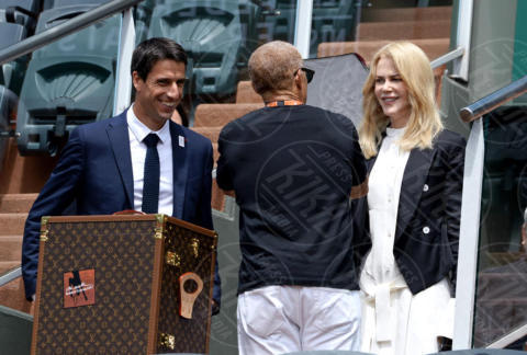 Tony Estanguet, Nicole Kidman - Parigi - 11-06-2017 - Nicole Kidman, è lei la vera regina di Francia