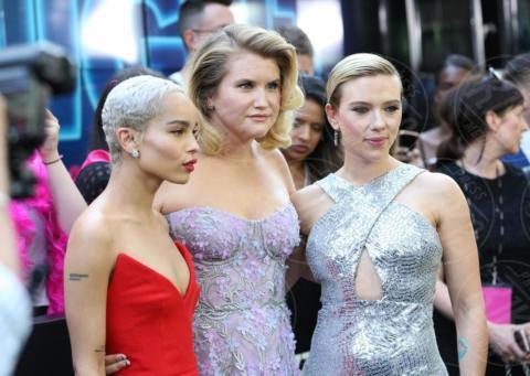 Scarlet Johansson, Jillian Bell, Zoe Kravitz - New York - 12-06-2017 - Scarlett e Demi: chi la più bella alla prima di Rough Night?