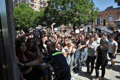 fan Ghali - Palermo - 07-06-2017 - Ghali a Palermo: fan in delirio per il rapper del momento